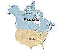 Canada To Offer Obama Continental Climate Change Pact - Climate map us and canada