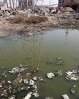 Water supplies in China are under threat from the twin problems of climate change and pollution. Photo courtesy AFP.