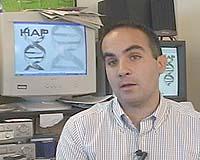 Computer scientist Eleazar Eskin, co-developer of the HAP tool for quickly inferring haplotypes from genotypes. - eleazar-eskin-bg