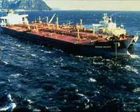 File image of the Exxon Valdez. ExxonMobil, which posted a record profit of 36 billion dollars in 2005 and has earned 29 billion in the first three quarters of 2006, has maintained that the environment in Prince William Sound