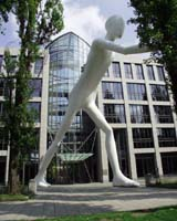 """Walking Man"" at Munich Re (a participating company)"