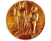 Nobel prize physics and chemistry medal